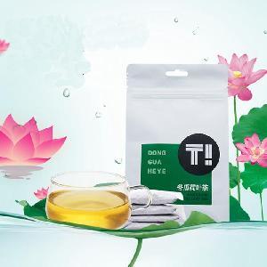 wax gourd lotus leaf tea beauty slimming tea