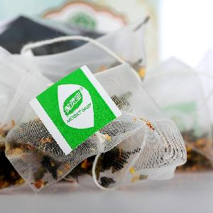Nylon Mesh Tea Bags Pyramid Shape Tea Bags Nylon Mesh Pyramid Shape Tea Bags