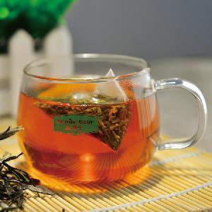 Merlin Bird black tea Topest quality and strong sweet fruity aroma high quality black tea Three-dimensional triangular tea bags