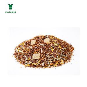 Organic Natural South Africa Rooibos Tea Chrysanthemum Lemongrass Flavor Customized Packing Type