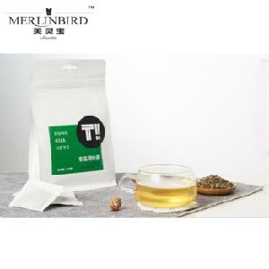 China Brand Merlinbird Natural Herbal Good Slimming Weight Loose Tea Wax Gourd/Winter Melon Lotus Leaf Green Tea