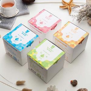 Custom Biodegradable  Nylon   Triangle   Tea  bag  Mesh Pyramids  Tea   Bag s With String Pyramid  Tea   Bag