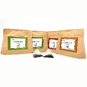 Private Label Kraft Paper Bag Package Tea Herbal Tea Natural Bulk