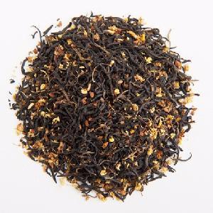 European Standard Ginger Lemon Osmanthus  Black  Blend Flavor Tea for  women