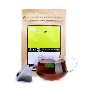 Chinese Hunan Anhua  Dark  Tea  Zipper  Kraft  Paper Bag Package