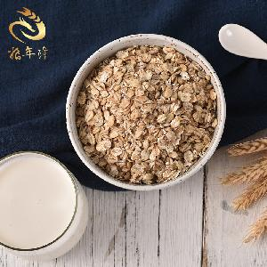 Oatmeal Hulless Barley Produced In The Plateau Low-Calorie Breakfast For Weight Loss Fitness People