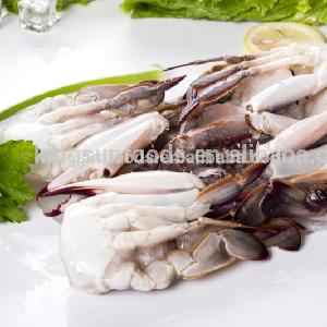 Hot sale Good Price Frozen Blue Swimming cut Crab
