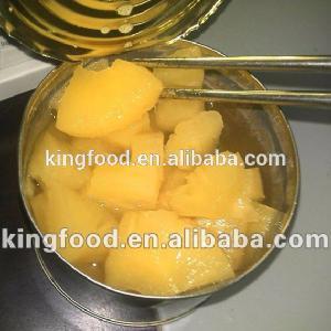 Консервированные кусочки ананаса,консервированные ананасы в сиропе