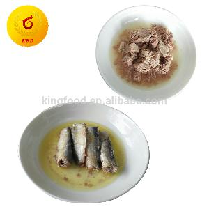 Chinese supplier Canned sardine canned mackerel canned tuna canned fish canned seafood canned food