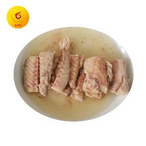 Canned   mackerel  fillet fish in vegetable oil