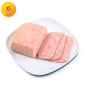 Canned food canned Luncheon meat supplier in China