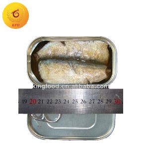 Chinese wholesale canned sardine fresh chinese canned sardines 125g