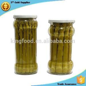 fresh canned  green  asparagus price 370ml  green  asparagus in glass  jar
