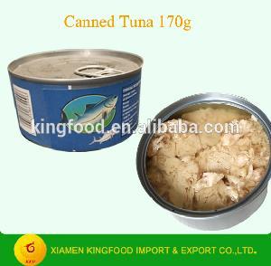 185 г консервной банки тунца в натуральном масле с частной этикеткой