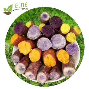 IQF Frozen Honey sweet frozen roasted  Sweet Potato Suppliers Processors Manufacturers with wholesale price