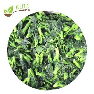 IQF Vegetable Cultivated Frozen Rape Flower iqf green vegetables brands