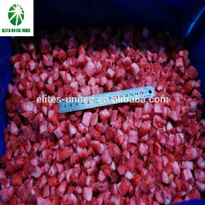 2017 new crop with good price frozen IQF whole strawberry diced plants