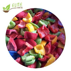 Frozen Mixed Color Sweet Pepper diced/dice/dices IQF RED/GREEN/YELLOW pepper cubes of new season crop