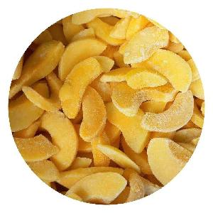 Newest high quality frozen IQF yellow peach slice