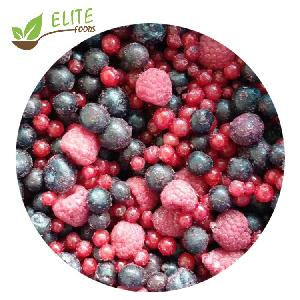 Fresh Taste IQF Frozen Mix Berries Strawberry Raspberry Blackberry Blueberry With High Quality