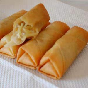 China Delicious Frozen Spring RollVegetable Snack Frozen IQF Cabbage Roll