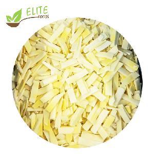 Top Grade Frozen Vegetables IQF Bamboo Shoot Slices/Sliced