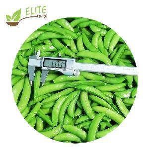 New Crop Frozen Vegetables IQF Frozen Sugar Snap Peas/Sweet Peas