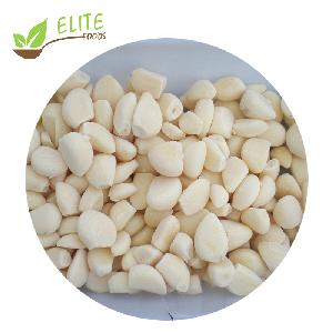 High quality IQF frozen peeled garlic cloves