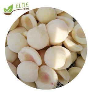New season good price iqf frozen white/yellow  peach halves