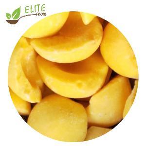Lowest Price peach halves frozen half cut yellow peach frozen yellow peach halves 2020 Cheap price Fast -Frozen