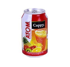 CAPPY FRUIT JUICY 330ML ATOM