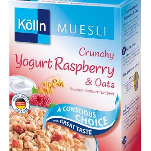 Kolln muesli yoghurt strawberrys