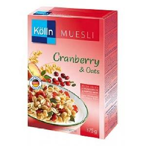 Kolln  muesli  cranberrys