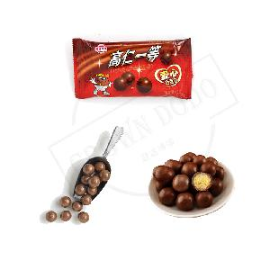 Bulk sale mylikes ball shaped candy biscuit chocolate pack in single bag candy sweet mylike chocolate biscuits for sale