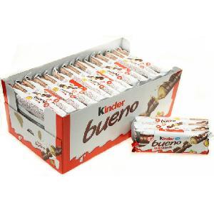 Kinder riffle milk hazelnut wafer chocolate for kinder bueno wafer for sale bulk halloween treats
