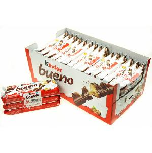 Ferrero kinder surprise kinder joy kinder bueno available black chocolate with cookies sweet candy