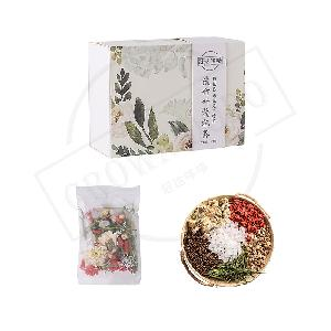 Organic scented tea vitamin natural scent and flavor tea bag packing chinese wolfberry tea with pale bamboo leaves