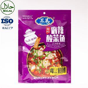 Hot Sale Pickled Cabbage Seasoning Fish  Sauce   Condiment  Spici Pickl Cabbag Fish