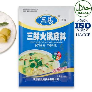 Fine Quality and Delicious Three Fresh Hotpot Sauce Base Food Seasoning Chinese Food