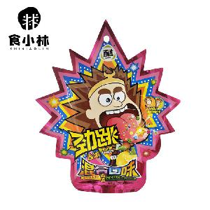 20g*48bags Snack foods Sour Sweet Popping Candy Magic Mini Fruit Bulk Popping Candy Confectionery Mix Fruit Candy