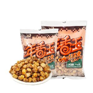 Roasted Coffee Flavored Fried Popcorn Party Snack Crispy Salted Corn Snacks Roasted Popcorn  Nuts  Grain Snacks Roasted Chickpeas