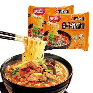 108g  Wholesale  Instant Noodles In Bags Spicy Beef Halal Certified Factory