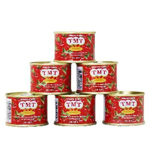70g mini size canned tomato paste fresh red