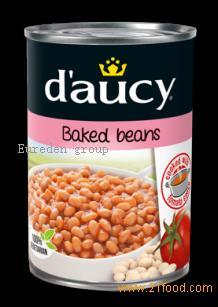 фасоль запеченная daucy в томатном соусе 400 г Масса нетто