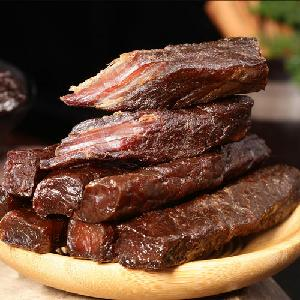 Instant Food Delicious Beef Air-dried beef strips dried beef jerky  snack