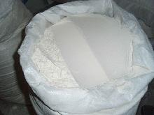 Wheat flour in  bags