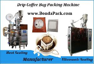 Australia drip bag coffee packing machine with outer envelope