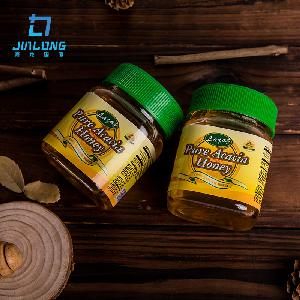 Good quality small glass jar packing pure natural honey