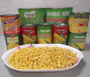 Canned Sweet Corn kernels