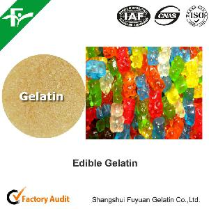 natural premium food grade gelatin used for confectionary